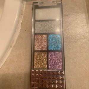 Hard candy glitter gel palette